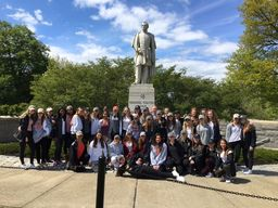 Thayer 8th Graders Visit West Point